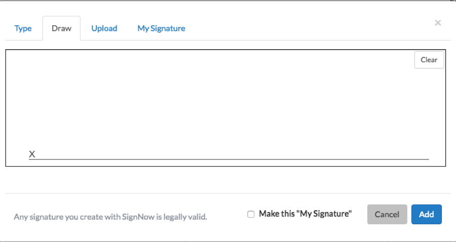 make a signature online