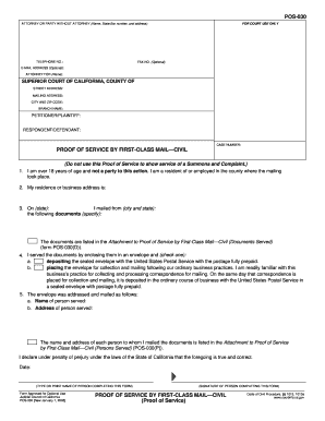 Pos 030 form - Fill Out and Sign Printable PDF Template