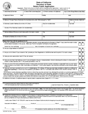 graphic about Printable Notary Forms called Notary software package variety - Fill Out and Indicator Printable PDF