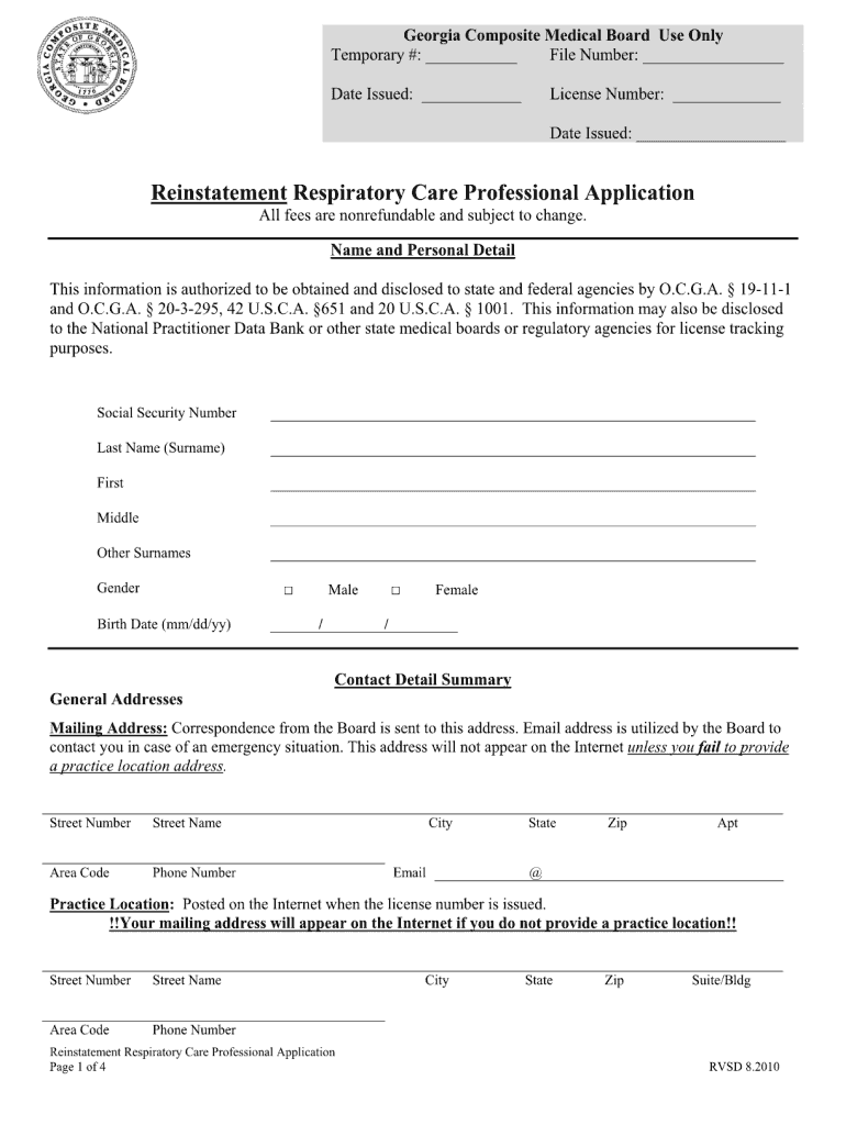 Reinstatement Form - Fill Out and Sign Printable PDF ...