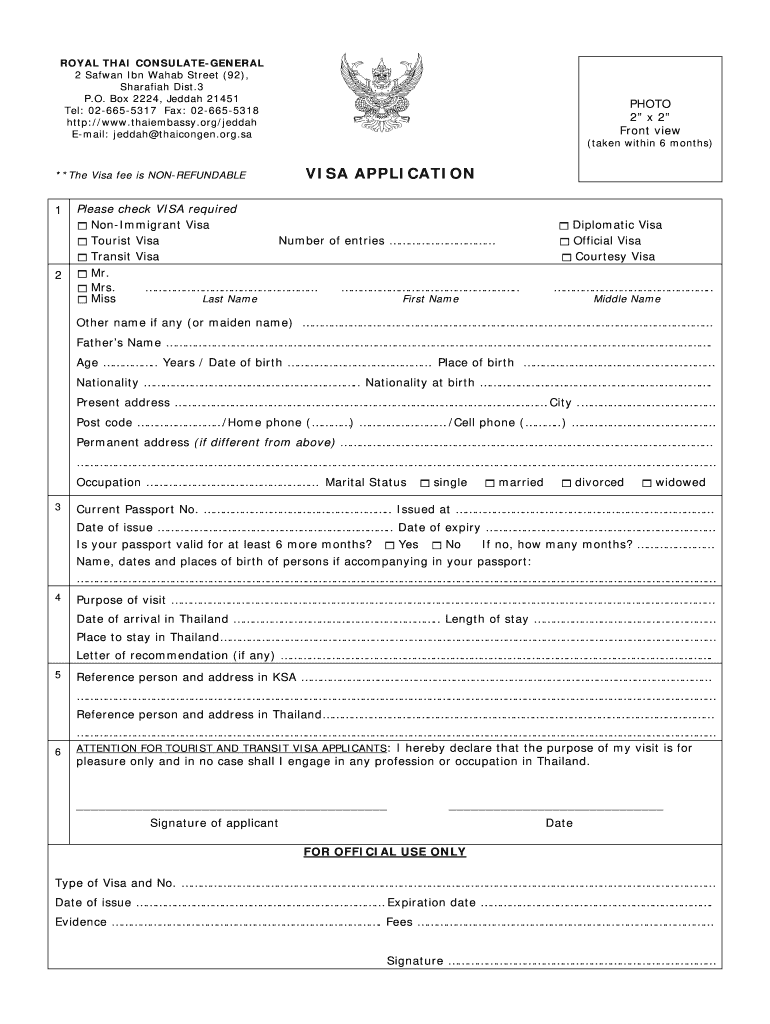 South Africa Visa Application Form Fill Out And Sign Printable Pdf Template Signnow