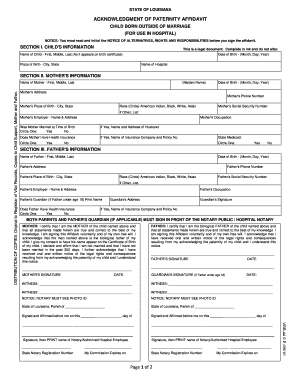 image relating to Printable Birth Certificate Form titled Louisiana start certification on the net type cellular historical past - Fill