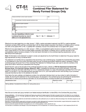 Get And Sign Fill In Form Ct 51 2010