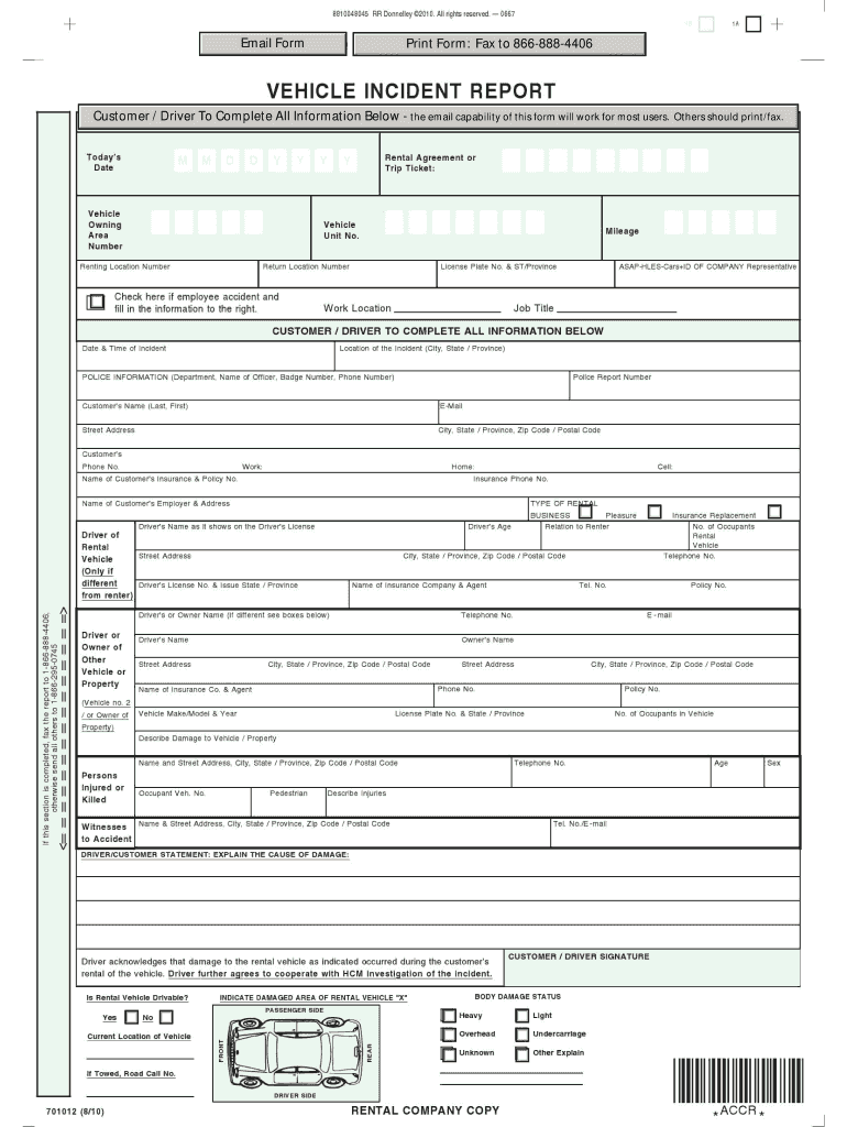 Accident Report Forms Template from www.signnow.com