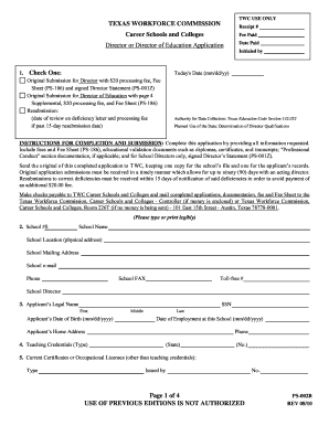 Get and Sign twc form ps 002