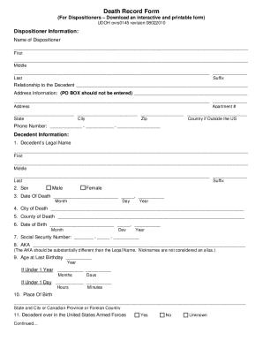 state of utah death certificate