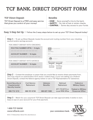 Bank deposit form - Fill Out and Sign Printable PDF Template