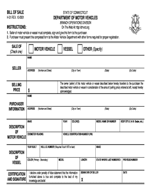 Ct Dmv Bill Of Sale >> Ct Dmv Bill Of Sale Form Fill Out And Sign Printable Pdf Template