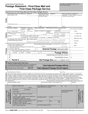 photo about Ps Form 2976 Printable titled Ps kind 3600 fcm1 2012 - Fill Out and Indicator Printable PDF