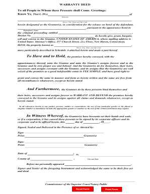 photograph about Printable Warranty Deed known as Promise deed style - Fill Out and Signal Printable PDF