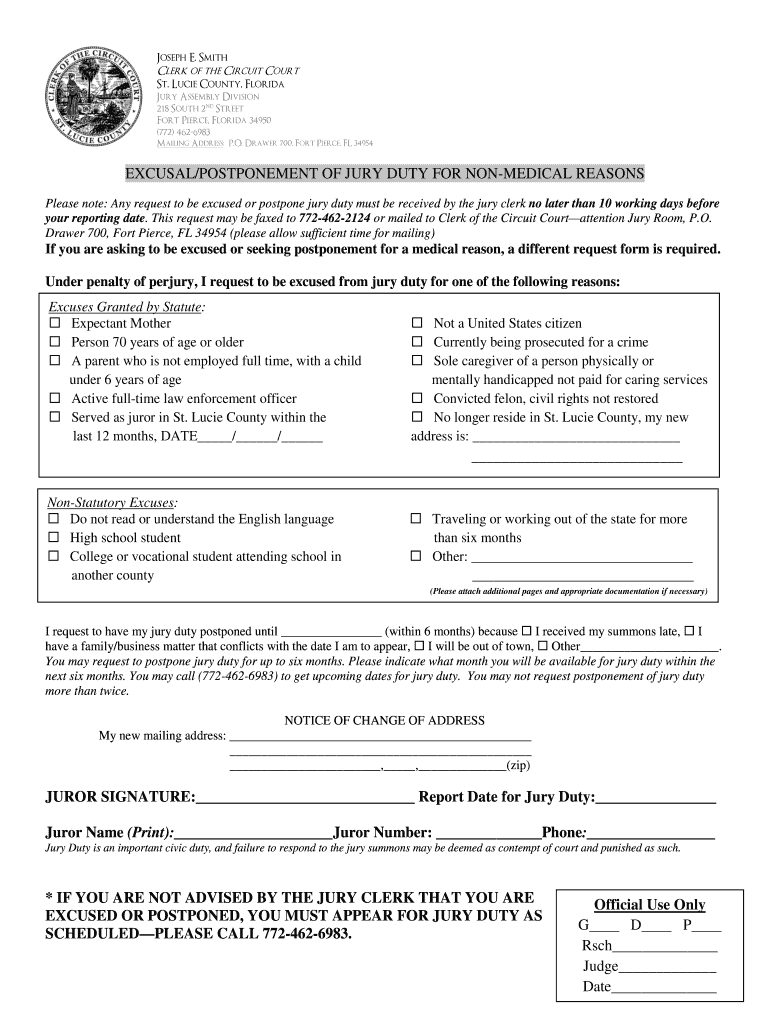 Jury Duty Excuse Letter Template from www.signnow.com