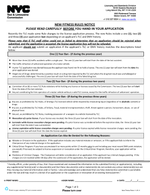 Application form in tlc - Fill Out and Sign Printable PDF