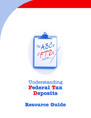 Get And Sign Publication 3151A Rev August  The ABCs Of Federal Tax Deposits Form