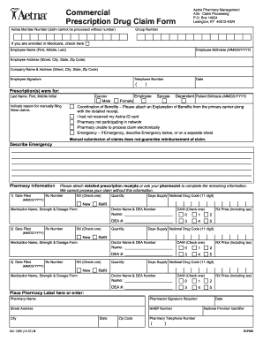 Aetna rx reimbursement form - Fill Out and Sign Printable