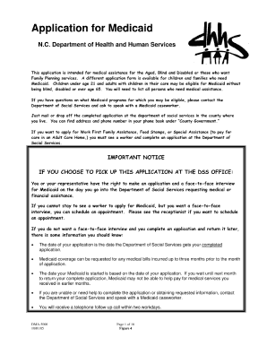 graphic regarding Printable Medicaid Application identify Put into practice for medicade on the internet inside durham style - Fill Out and Indication