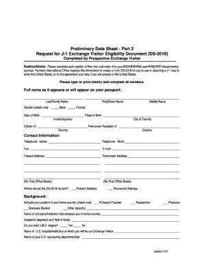 Get and Sign ds 2019 pio form