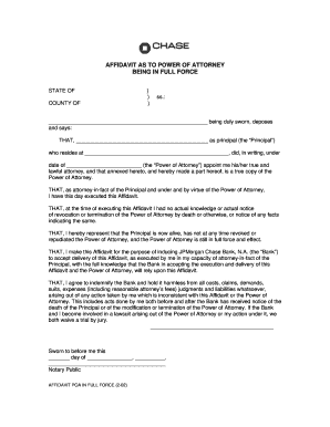 power of attorney form filled out  Power of attorney affidavit - Fill Out and Sign Printable ...