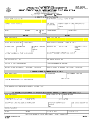 Instructions form ds 3013 2003 - Fill Out and Sign Printable