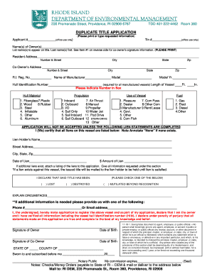 Get And Sign New Boat Blank Title Form