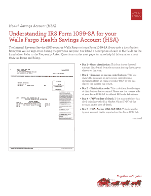 Wells Fargo 1099 Sa Form Fill Out And Sign Printable Pdf Template