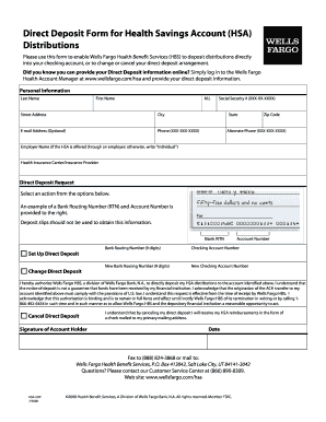 1099 form wells fargo  Direct deposit wells fargo form - Fill Out and Sign ...