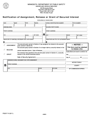 Lien Release Form Mn Fill Out And Sign Printable Pdf Template