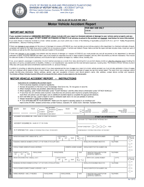 Get And Sign Ri Accident Report Form