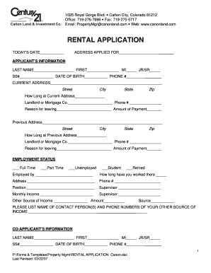 graphic relating to Printable Rental Application Form called Century 21 fillable apartment computer software sort - Fill Out and