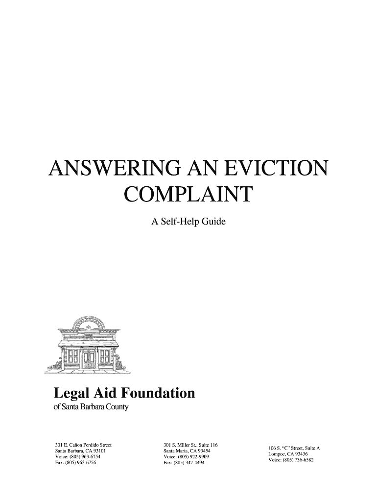 Get And Sign Answering An Eviction  Packet doc Judicial Council Forms