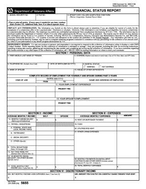 Va Form 5655 Pdf