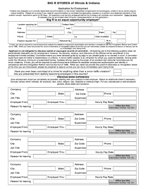 Big r application form - Fill Out and Sign Printable PDF Template
