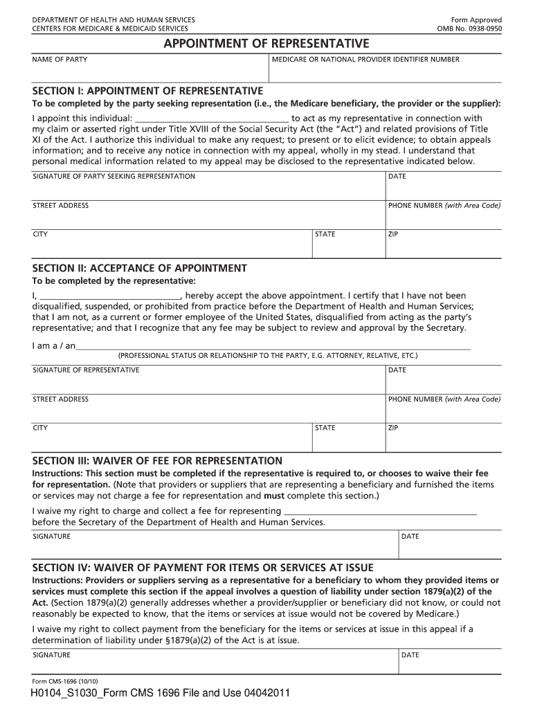 Get And Sign Form Representative 2011-2021
