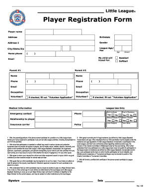 picture relating to Printable Registration Form Template identify Blank registration styles template - Fill Out and Indication