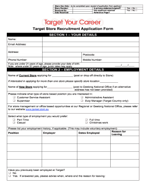 image relating to Target Printable Application named Concentration program variety - Fill Out and Indication Printable PDF