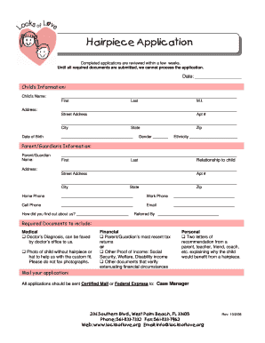 Get And Sign Love Application Form 2008-2021
