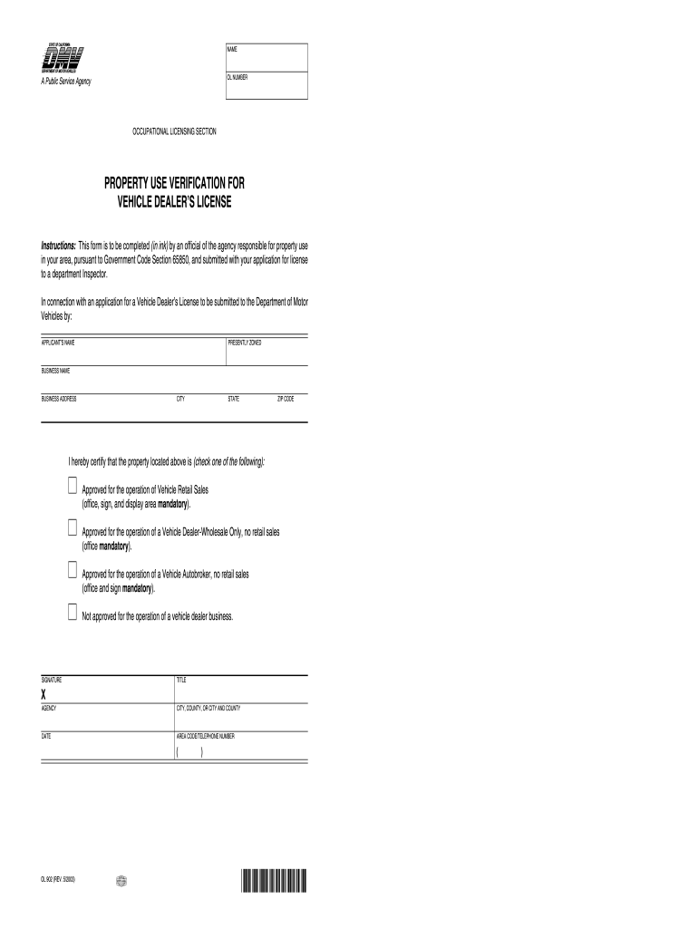 Get And Sign Ol 902 Form