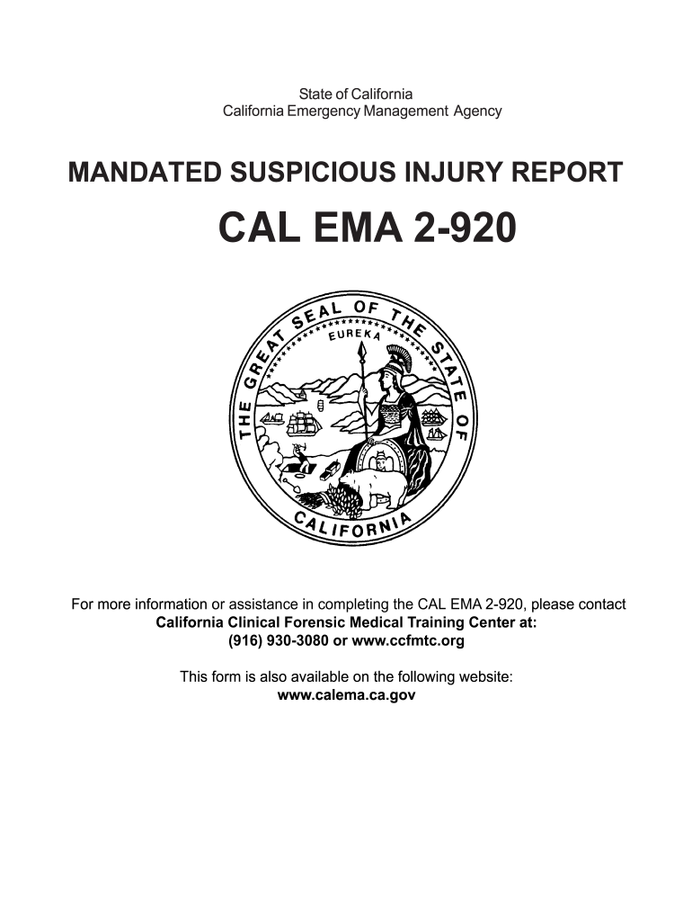 Get And Sign Suspicious Injury Report California  Form 2003-2021