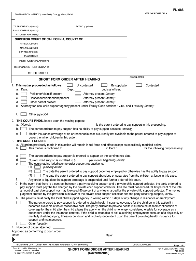 Get And Sign Fl 688 2010-2021 Form