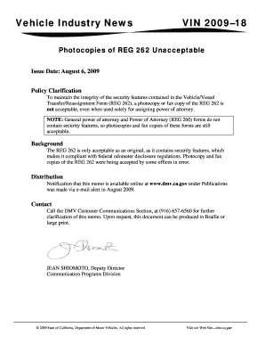 Reg 262 - Fill Out and Sign Printable PDF Template | SignNow Complete Da Form Example on