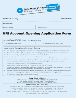 United bank of india nri account opening form - Fill Out and Sign