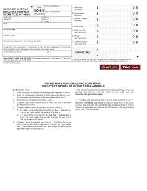 Mo 11 form 11 - Fill Out and Sign Printable PDF Template ...