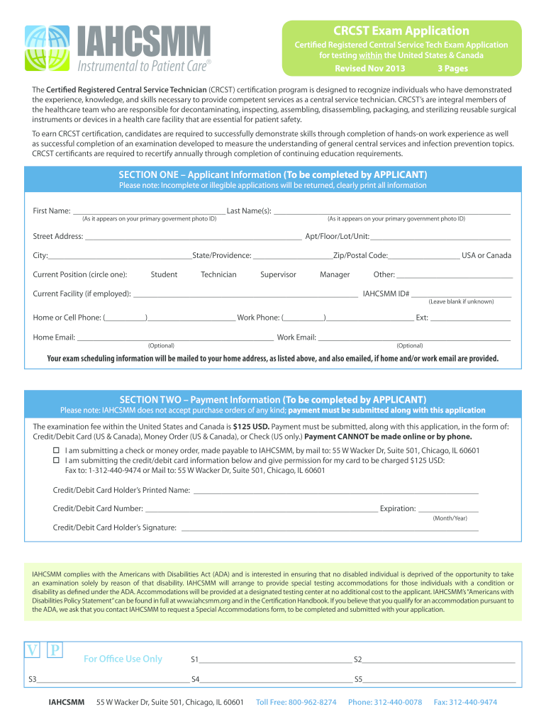 Get And Sign Crcst Mobile Application  Form 2013-2021