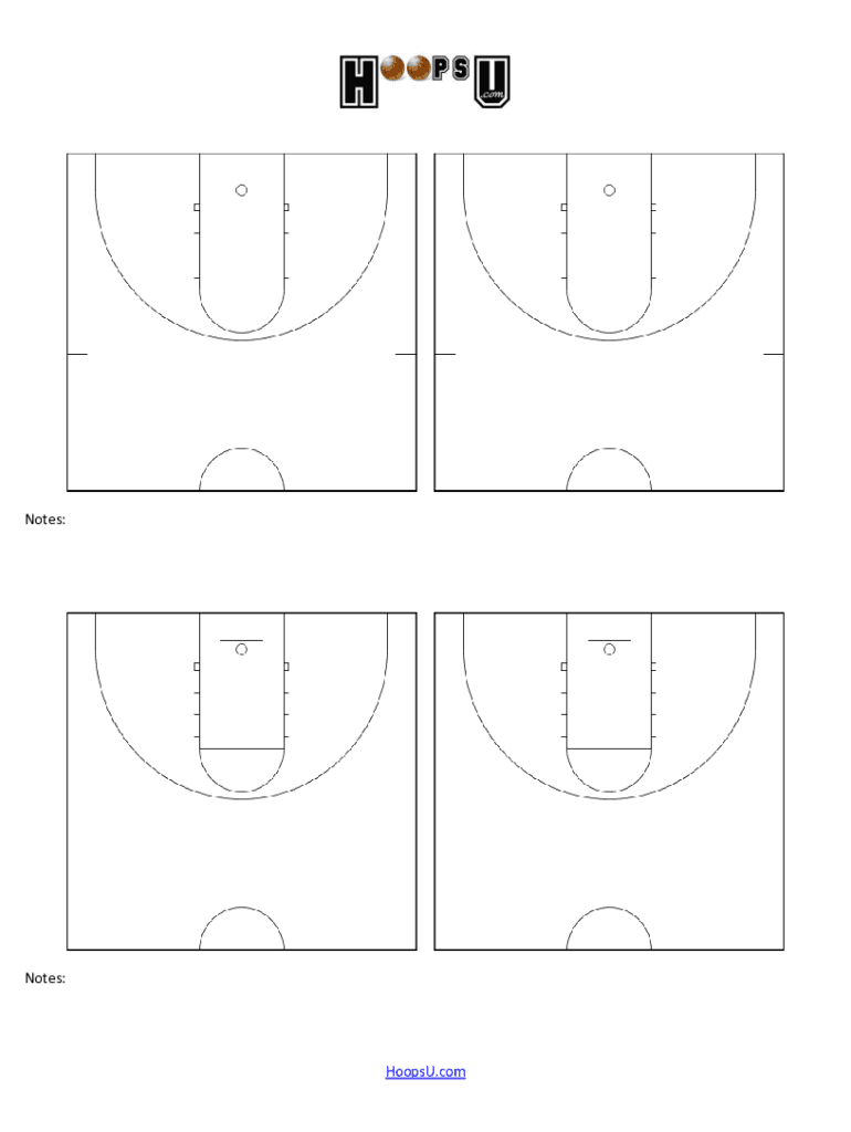Diagrams Basketball Court Fill Out And Sign Printable Pdf Template Signnow
