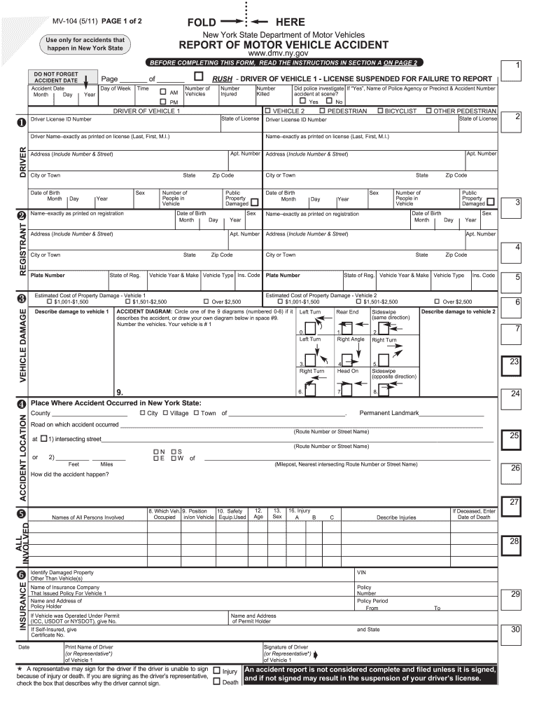 Get And Sign Mv 104 2011-2021 Form