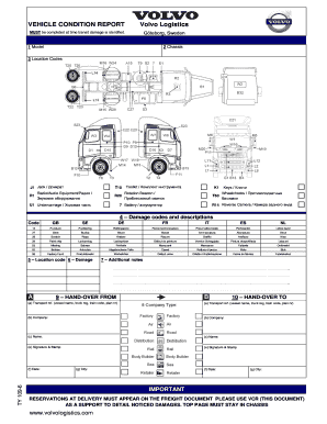 vehicle condition report forms fill out and sign. Black Bedroom Furniture Sets. Home Design Ideas