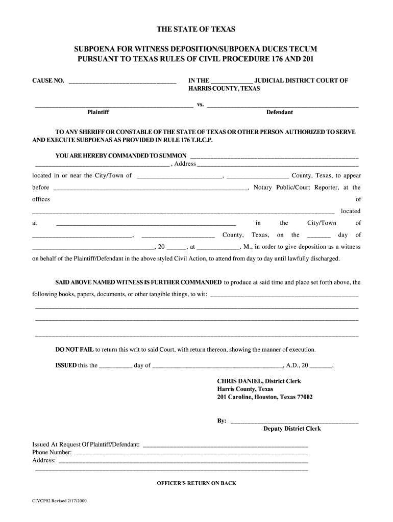 texas rules of civil procedure 176