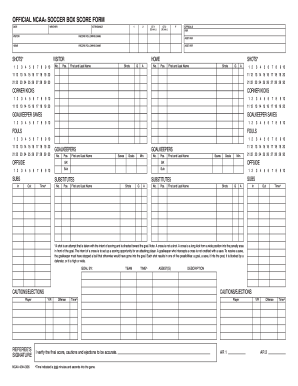 image relating to Printable Soccer Stat Sheet called Football stat sheet sort - Fill Out and Signal Printable PDF