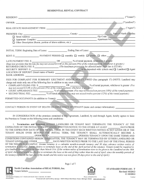 Example Nc Lease Agreement The Bayshore Company Form