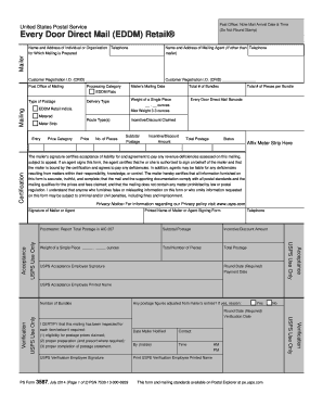 picture regarding Ps Form 2976 Printable titled Usps kind 3587 2014-2019 - Fill Out and Indicator Printable PDF