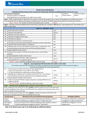 Fannie mae income worksheet editable - Fill Out and Sign ...